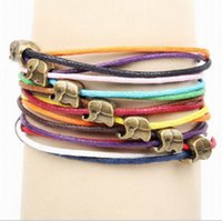 Cheap special link for customer including 40pcs bracelet and dhl frieght cost jewelry alloy bronze with baby elephant Dumbo accessories handmade
