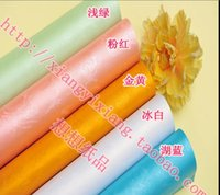 Wholesale Boutique Classic Rose Pearl Colors Decorative Durable Flat Wrapping Paper Roll scrapbooking gift paper cm