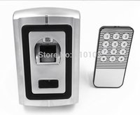 Wholesale Metal Case Waterproof Access Control Fingerprint Reader Standalone Fingerprint Access Control System Can Store Fingers