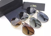 aviator gold - Aviator Sunglasses Cazal Vintage col Gold Green Lenses