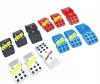Wholesale Momo pedal manual pedals foot pedal slip resistant pad car general modified pedal red