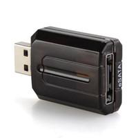 achat en gros de adaptateur de pont-USB 3.0 2.0 à eSATA Convertisseur de pont externe 5Gbps pour Latop 2017 Nouveau