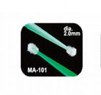 Wholesale 100pcs Green Lint Free Disposable Swab Micro Brushes Eyelash Extension Tool Individual Lash Glue Removing Tools