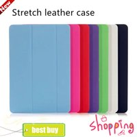 amazon s kindle - 2016 new for ipad Pro air mini4 Galaxy Tab A S2 S front smart cover Clear back Elastic skin fold case free shoping