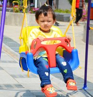 Wholesale 2016 Baby Swings for Children Rocking Chair Outdoor Safety Kids Multifunctional Infant Rocking Seat Swing Bouncer