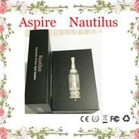 battery systems - Nautilus Nautilus mini Atomizer BVC Adjustable Airflow system Glass Tank e Cigarette Bottom dual Coils for ego battery mod DHL