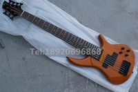 Wholesale 7 strings bass natural electric bass guitar Chinese bass