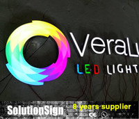 Wholesale High quality chain store advertising light up sign