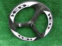 Wholesale 2015 Top Selling Customized Tri Spoke Carbon Wheels Carbon c Clincher Bike Wheelsets Spokes Bicycle Carbon Tri Spokes Cycle Parts