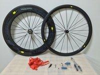 best road wheelset - Best selling C wheels full carbon fiber F mm R mm carbon Cosmic Wheelset mm Width wheelset glossy R36 Hubs