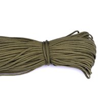 Wholesale Army Green Paracord Paracord Parachute Cord Lanyard Rope Mil Spec Type III Strand FT Climbing Camping survival equipment