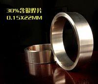 alloy welding rods - Ag30 Silver brazing strip AG30 silver brazing alloys silver brazing wire silver brazing rod gas welding rod wire brazing and soldering