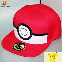 baseball caps recommendations - Red Cap Pikachu Caps Sport cap Anime surrounding the new recommendations Pikachu elves ball hat baseball cap