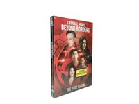 Wholesale New Released riminal Minds Beyond Borders the complete first season DVD set US version Hotselling Movies Brand New Factory Sealed DHL shi