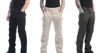 Wholesale Tactical cargo pants combat multi pockets training overalls men outdoor sarmy training combat brand trousers