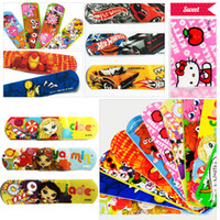 adhesive kits - Waterproof Breathable Bandages Cute Cartoon Band Aid Hemostasis Adhesive First Aid Kit For Kids Children