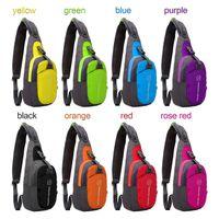 Wholesale Casual Chest Shoulder Messenger Backpack Body Bag Outdoor Sports Sling Satchel