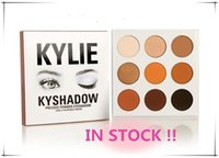 Wholesale 12pcs In stock sale hot new kylie Kyshadow pressed powder eye shadow palette the Bronze Palette Kyshadow Kit Kylie Cosmetic colors