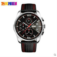 Wholesale skmei water resistant quartz watch with stainless steel back wathes men women business wristwatches men s Sports classic Fashion