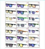 Wholesale 21 models KEN BLOCK HELM Cycling Sports Sunglasses Outdoor Sun glasses Brand Black Skin Snake HELM Ken Block AAA