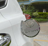 Wholesale Toyota RAV4 RAV Tank Cover Stainless Steel Oil Fuel Cap Tank Cover Trim Protective Decoration Car Accessories