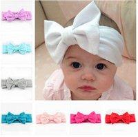 Wholesale Set of Baby headband baby headwrap Baby Girl headband Baby Turban Messy Bow Headband Toddler Headband baby gift