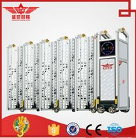 aluminum fence gates - Aluminum electric automatic fence gate for industrial L1531