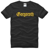 band twilight - New Summer GORGOROTH T Shirts Men Cotton Short Sleeve Gorgoroth Twilight of the Idols Men s T Shirt Fashion Rock Band Heavy Metal Tee Shirt