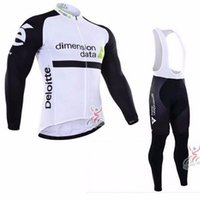 bicycle dimensions - 2016 bike team dimension data cycling jerseys long sleeve mens autumn quick dry thin cloth MTB Ropa Ciclismo Bicycle maillot gel