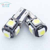 Wholesale Automotive LED light show wide T10 SMD w5w shown wide light reading lamp license plate lamp
