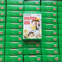 Wholesale Fujifilm Fuji flim photographic paper Fujifilm Fuji Instax Mini Film White Sheet Fuji Camera Mini s Sheets Polaroid