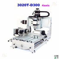 Wholesale Hot sell axis cnc router T D300 mini cnc milling machine with white controll box engrave machine
