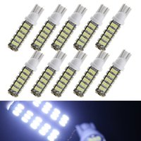 Wholesale car stlying Pack White T10 W5W SMD LED Bulbs For Car Replacement Bulbs License Plate Lights