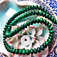 abacus manual - The bell produced into pure natural Malachite beads DIY parts manual material A material abacus beads