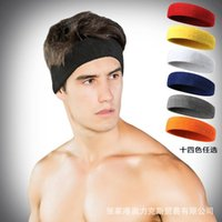 Wholesale Towel Men And Women Pure Cotton Yoga Basketball Motion Sweat Absorbent Head Bring Hairdo Wash One s Face Full Cotton Head Bring