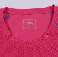 Wholesale quick dry slim running t shirt summer breathable anti UV sportswear cycling t shirt