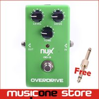 amp hardware - NUX OD Vintage Overdrive Guitar AMP Booster Effect Pedal True bypass Hardware Switching LED Indicator Shows Musical Instrument