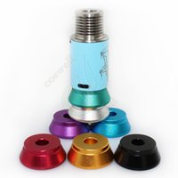 Wholesale Colourful Aluminum Base for RDA RBA Tank Metal Holder Clearomizer Base Atomizer DHL FREE