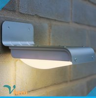 Wholesale Outdoor LED solar light LEDs ip65 solar wall light waterproof road garden street lamp induction NO OFF