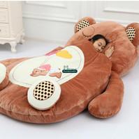 beds with tv - Dorimytrader Animal Beanbag Giant Stuffed Soft Plush Cartoon Bed Carpet Tatami Mattress Sofa Models with Sizes