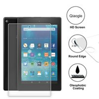 Wholesale Qiaogle Anti explosion Tempered Glass Screen Protector Ultra Hard for Amazon Fire HD inch Version Premium Screen Protector