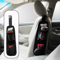 Wholesale Useful Car Interior Seat Covers Hanging Bags Collector Organizing Bag with Storage Pockets Seat Bag of Chair Side