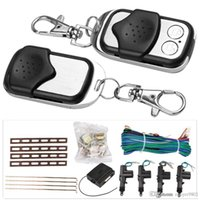 Wholesale Universal Car Door Remote Keyless Entry Central Lock Locking Kit for or doors