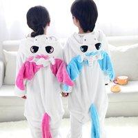 Wholesale Children pajamas girls unicorn baby boys clothes unicornio Spring Children nightgown pyjamas kids animal pijamas infantil