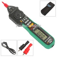 Wholesale Mastech MS8212A Pen type Digital Multimeter DC AC Current Voltage Multimetro Tester Diode Continuity Logic Non contact Voltage
