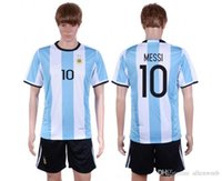 argentina national soccer team jerseys - argentina national team soccer jersey shirt uniform home away kits jerseys man kit uniforms men with shorts sets messi set
