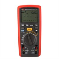 Wholesale UNI T UT505A V Digital Handheld True RMS Megger Insulation Resistance Meter Tester Multimeter Ohm Voltmeter