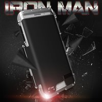 arrival just - NEW ARRIVAL original genuine R just Armor King metal protective cases Iron Man cellphone case strange for S7 edge and S7 on sale