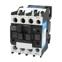 Wholesale CJX2 mm DIN Rail Mount AC Contactor Pole One NO V Coil A