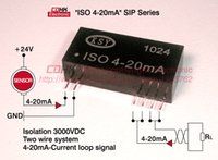 analog signal isolator - SIP12 PIN mA isolator safety barrier Analog signal acquisition passive mA signal isolation mASignal extension